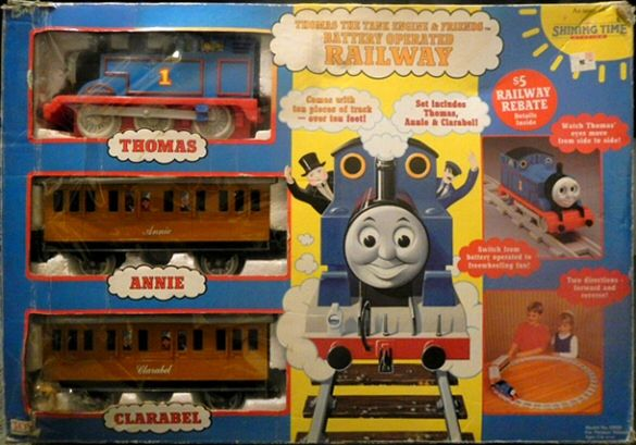 Thq Quot Thomas The Tank Engine And Friends Quot Battery Operated