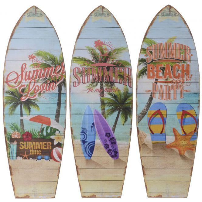 Wanddeko Surfbrett Aus Holz Ca 60 X 20 Cm 1 Stuck Rofu De In 2021 Surfbrett Surfen Wanddeko