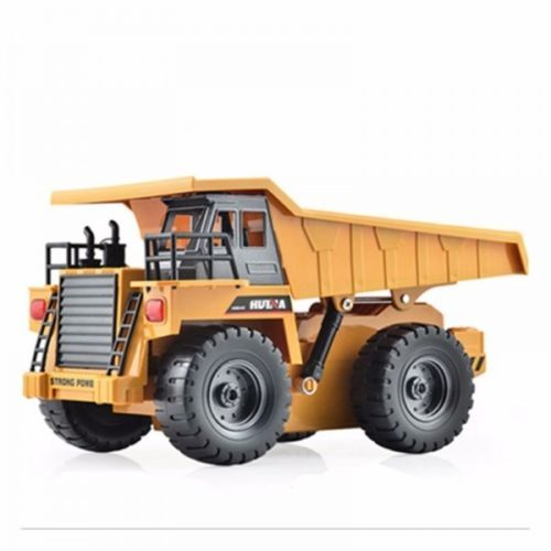 HuiNa-Toys-1540-6-Channel-1-12-RC-Metal-Dump-Truck-Toy-Free-Shipping
