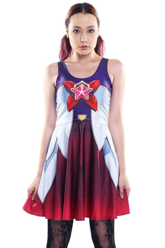 Star Guardian Jinx Skater Dress - LIMITED - Made To Order