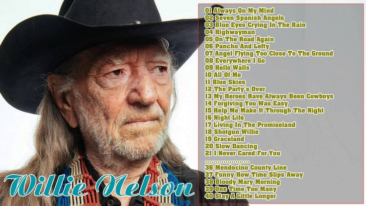 Willie Nelson Greatest Hits Collection | Best Of Willie Nelson
