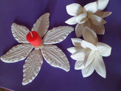 moldes para hacer flores en goma eva/como usar la goma eva