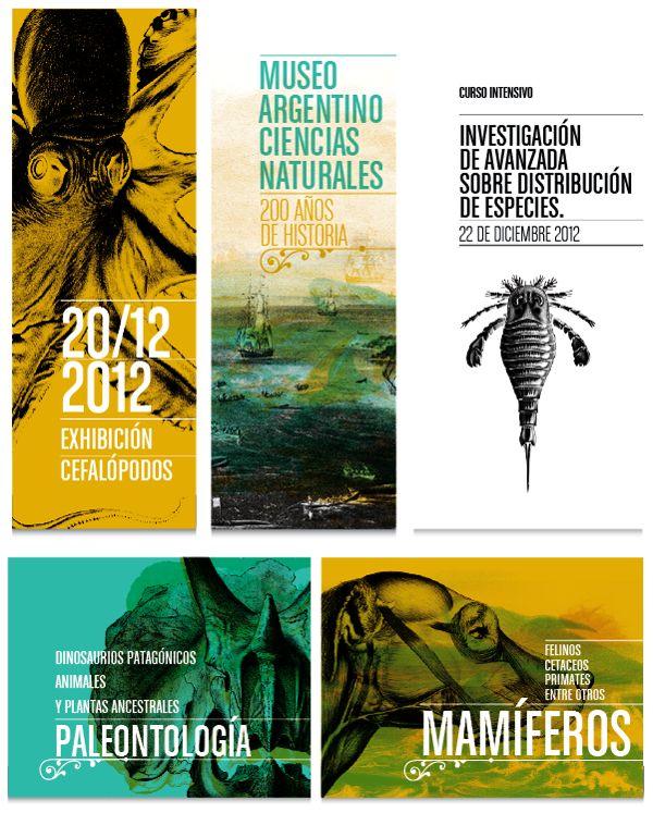 Museo Argentino de Ciencias Naturales by Lucas Rod, via Behance
