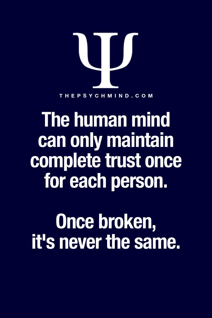 if trust is lost in a relationship