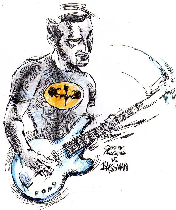 Giuseppe Giacalone, bassista dei Tintinnabula in versione The BassMan