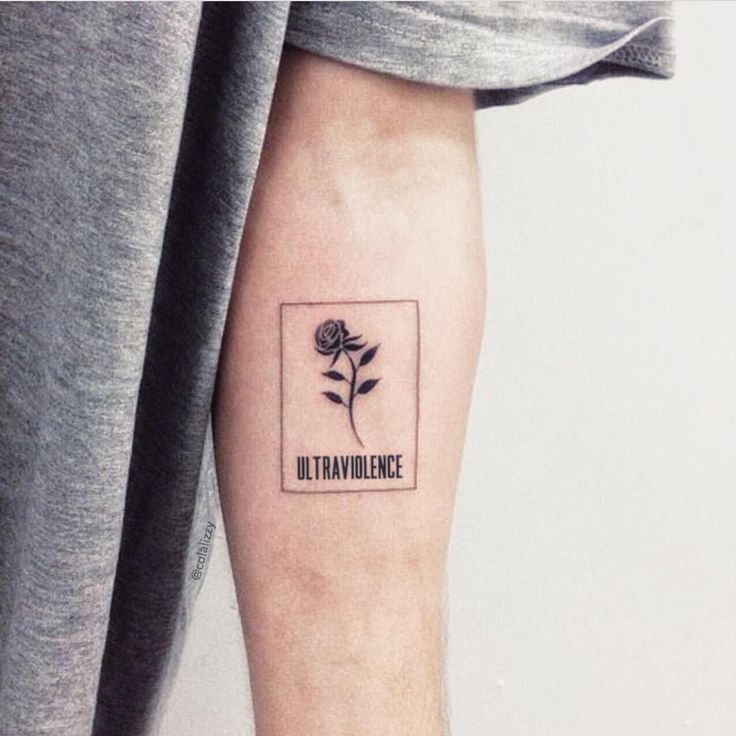 Simplistic tattoos