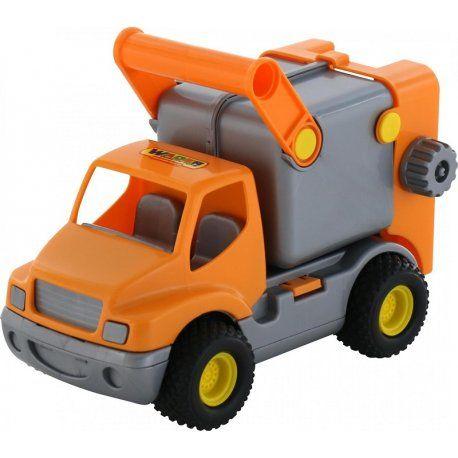 Piątek, piąteczek, piątunio - Uwielbiamy:)  Prosto z Białorusi Polesie Samochód Śmieciarka w zestawie Wader 0414 Quality Toys - Super jakość już dla dzieci od 1 roku.  Jest w kolorze pomarańczowym, posiada cztery szerokie, gumowe chropowate koła do jazdy po trawie czy piasku.   Podnoszony kosz, otwierana tylna klapa czy otwierany kontener.  Piasek też mamy:)  Miłego Weekendu:)  http://www.niczchin.pl/wader-garaz-tor-auta/3871-polesie-wader-0414-samochod-smieciarka-quality-toys.html  #wader…
