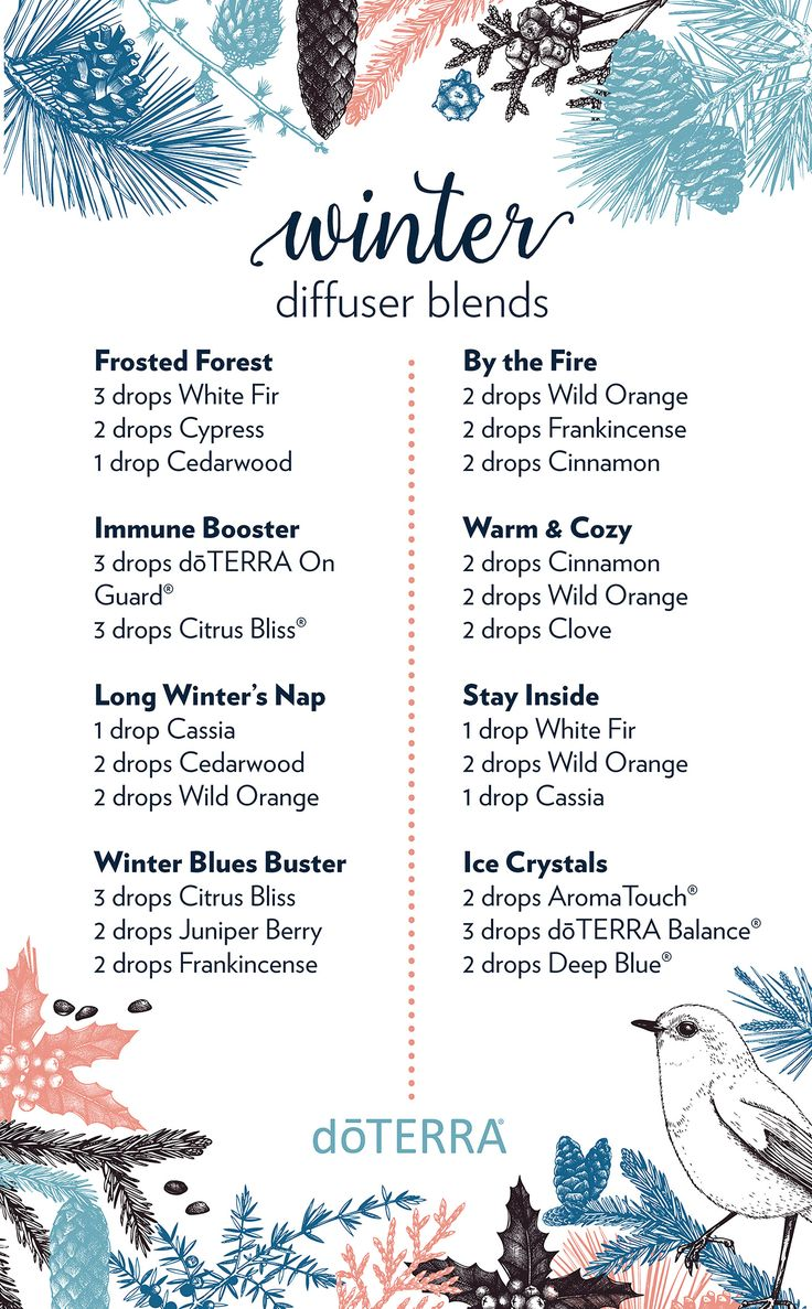 Doterra bathroom cleaner - 8 Diffuser Blends To Diffuse During Wintertime