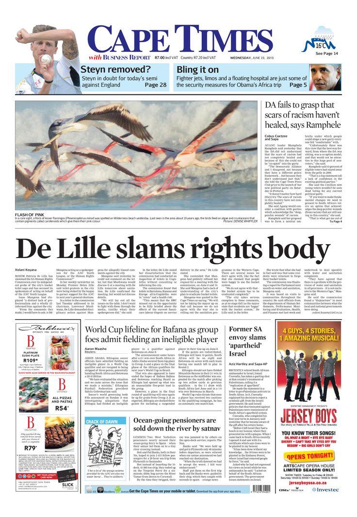 De lille slams rights body