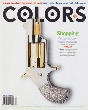 Tibor Kalman, Oliviero Toscani, Colors, 1991-1995. BEST magazine of all time.