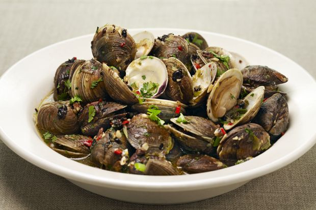 Braised Clams with Black Bean Sauce Recipe sounds awesome (via ...