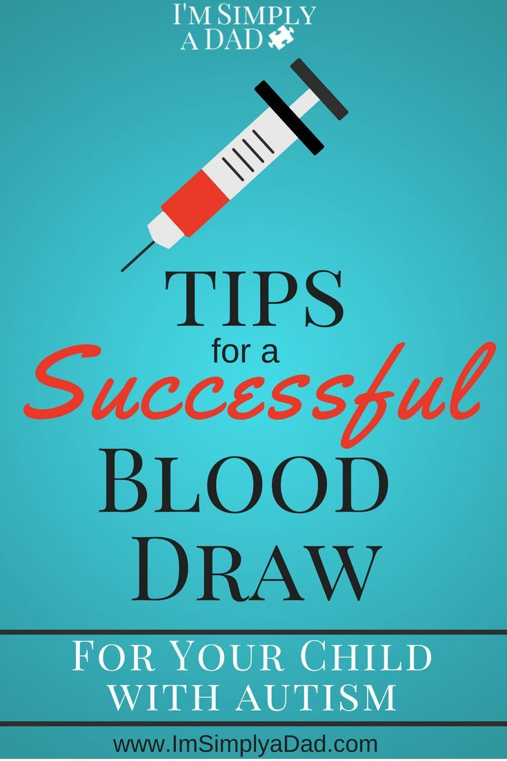 Our Tips for A Successful Blood draw | Autism | Autism
