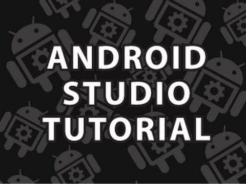 "YouTube: ""Android Studio Tutorial"" (Derek Banas)"