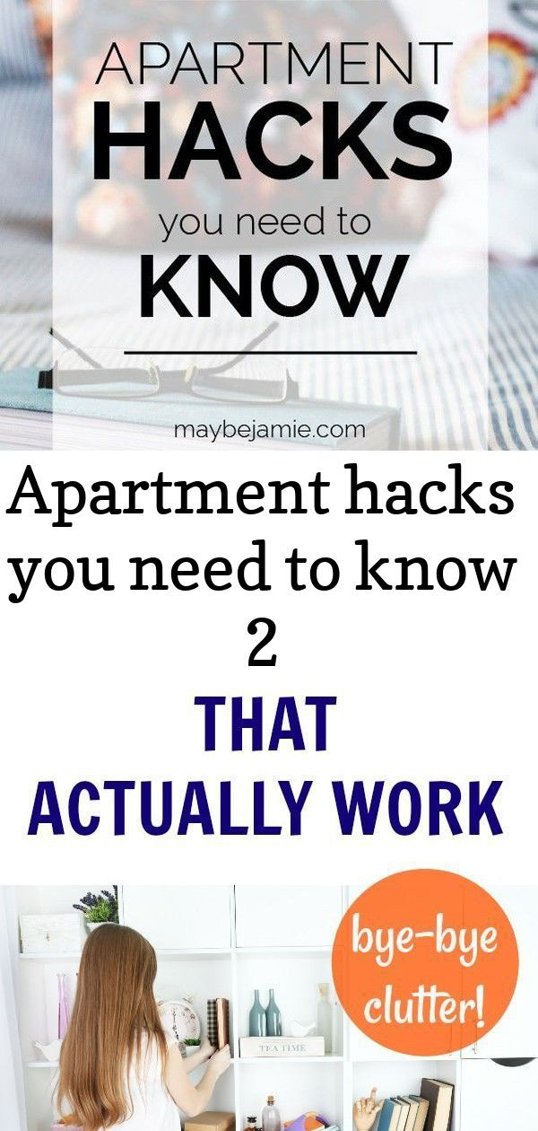 Apartment hacks that will make your life ten times easier ...