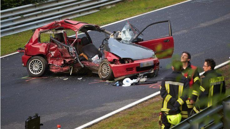 Crash Nürburgring Honda Civic