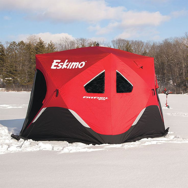 Eskimo - Ice Fishing Augers, Ice Fishing Shelters and Ice Fishing Gear: - FatFish 949 Pop-Up Shelter