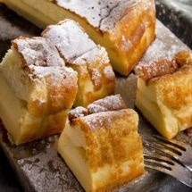 Ma recette du jour : Gâteau magique facile sur Recettes.net