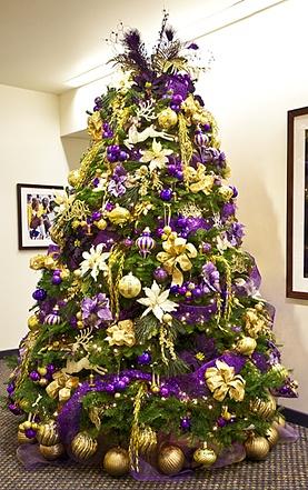 Lakers Christmas Tree