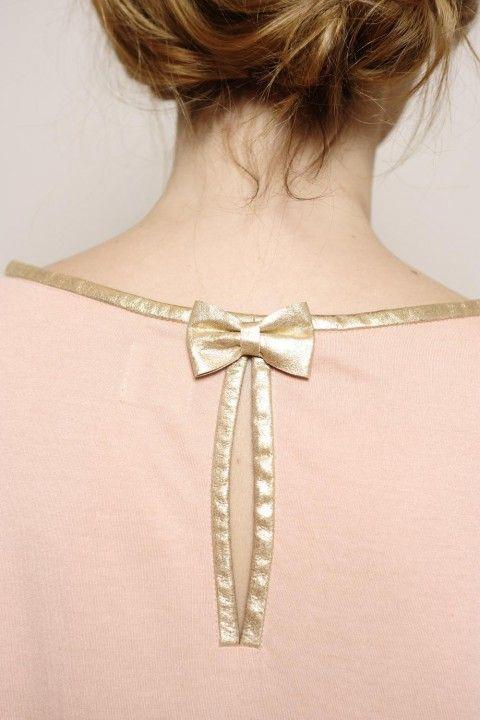 t-shirt m. longues Origami poudre 12% angora/58% micromodal/30% polyamide - tee shirt Femme - Des Petits Hauts