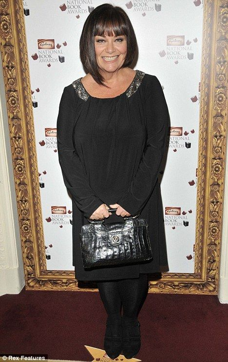 I love Dawn French, and look at her now! She has lost 4 stone in a few months, she looks amazing!