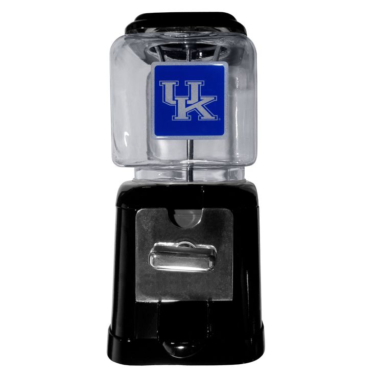 """Checkout our #LicensedGear products FREE SHIPPING + 10% OFF Coupon Code """"Official"""" Kentucky Wildcats Black Gumball/Candy Machine - Officially licensed College product 4 inch x 4 inch glass globe for small candy or gumballs Fully cast metal base, base and globe have a total height of 11 inches Can be set for free dispensing or used with quarters, dimes or nickels A fun gift for any Kentucky Wildcats fan - Price: $51.00. Buy now at…"""