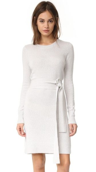 Club Monaco Remlee Tie Front Sweater Dress