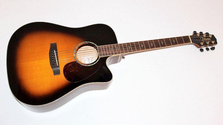 Takamine EG350SC VS Sunburst Dreadnought Acoustic Electric Guitar