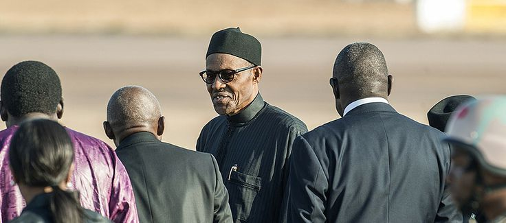 New Nigerian President Inherits same Boko Haram Violence- June 2015 -Ryan Cummings - Nigerian President Muhammadu Buhari arrives at the recent African Union Summit, where efforts against Boko Haram were discussed. Johannesburg, South Africa, June 12, 2015. (Mujahid Safodien/AFP/Getty Images)