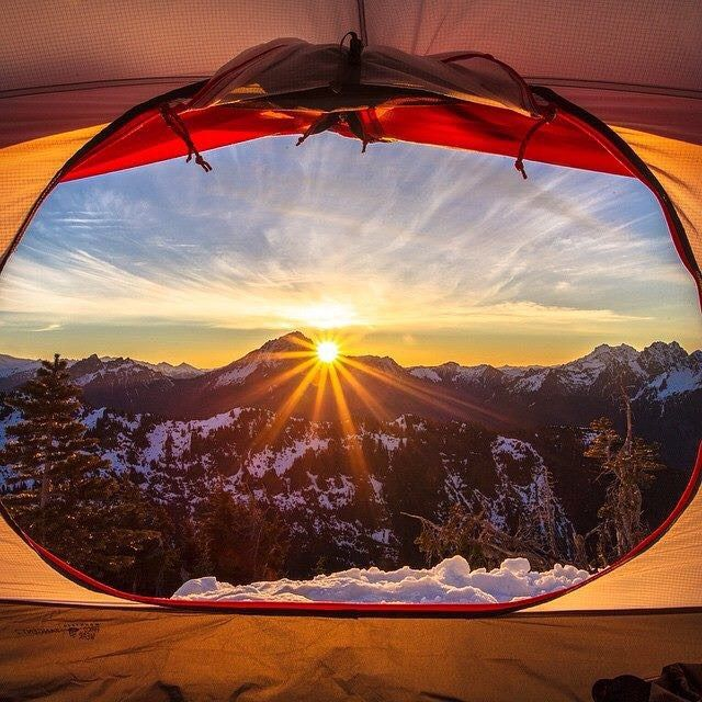 Life is a series of moments that happen to you or that you choose to create. Jacob Moon pursuing adventure and capturing this breathtaking shot of the sun peeking through Sloan Peak from his spot on Mt. Dickerman. Photo credit Jacob Moon #MHWAmbassadors #MHWTents #Tangent2Tent #MtDickerman #CentralCascades #Adventure #ShareYourAdventure #FromTheTribe #Travel #Mountains #LiveYourLife #Outdoors #MountainHardwearPH