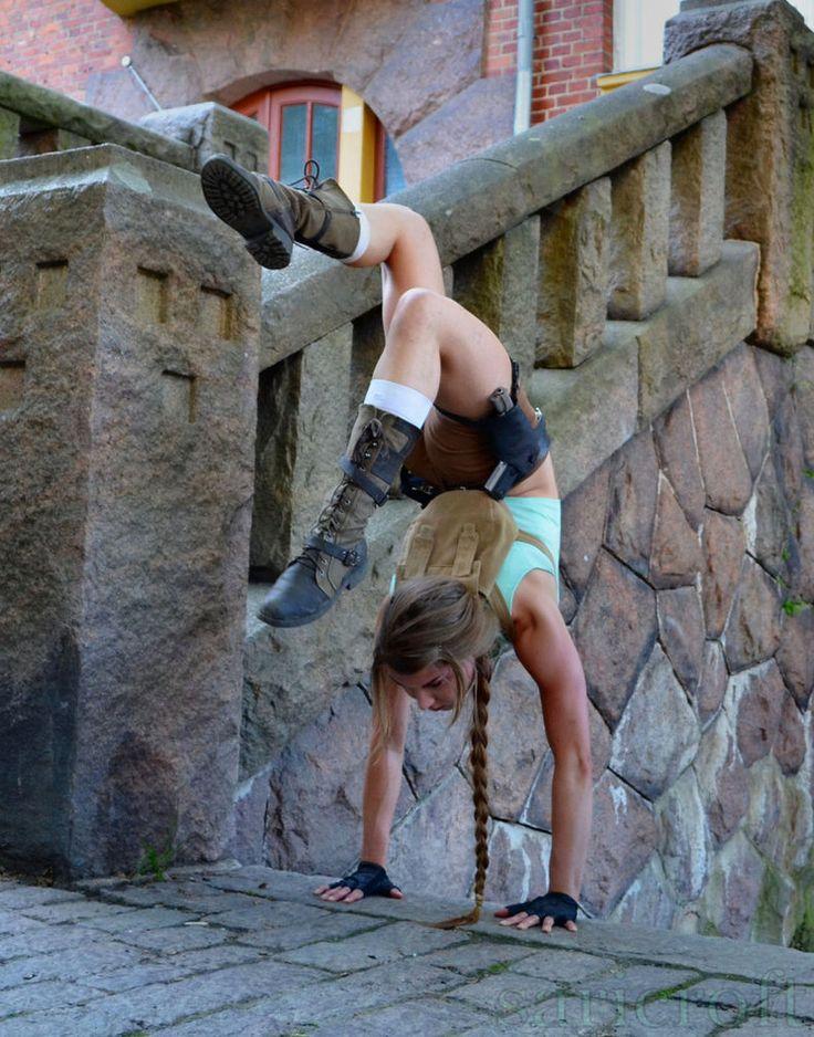 Mais avoir les skills acrobatique de la jeune archéologue