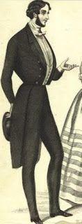 """.História da Moda.: Século XIX: Parte 1 - A Moda na Era Romântica Homens de classe média e alta vestiam espartilhos ou peças que imitavam espartilhos para marcar a cintura e se promover em status, a peça era traje a rigor para oficiais do exército. O espartilho masculino era chamado de """"cintas"""", """"cintos"""" ou vestes"""", já que a palavra corset soava muito feminina."""