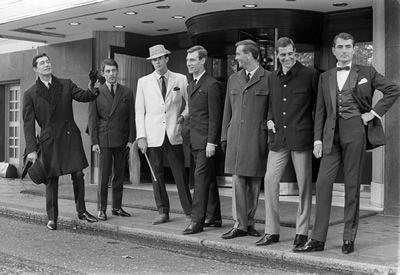 60s Fashion for men. on Art247.com