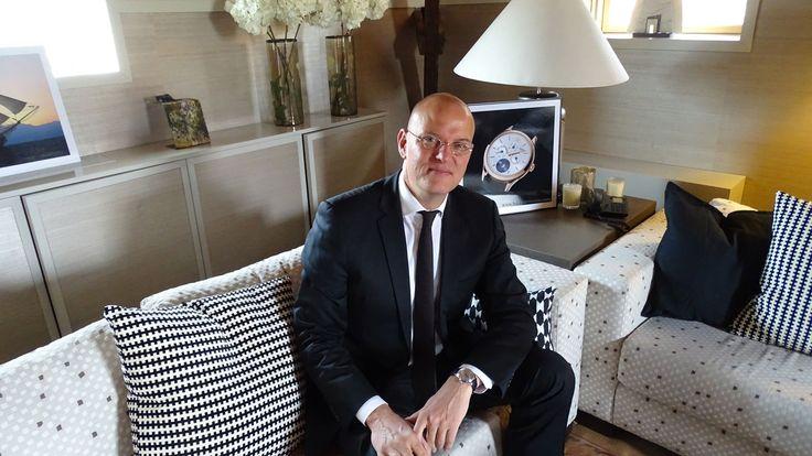 Jens Koch, Vice President International Marketing Director de #Montblanc