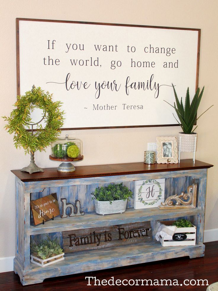 Farmhouse decor, giant indicators, farmhouse type, shelf adorning, learn how to beautify…