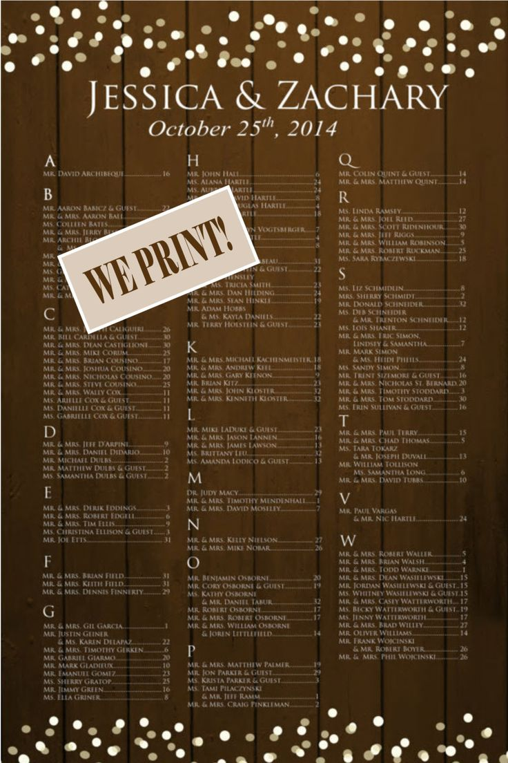 28 best Seating Charts images on Pinterest | Wedding seating charts ...