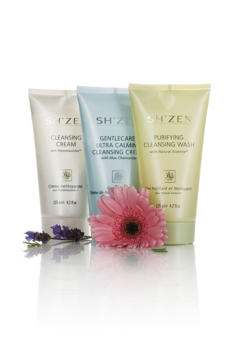 Sh'Zen has the perfect Facial Cleanser to suit your skin type...http://bit.ly/1Sn8vm8
