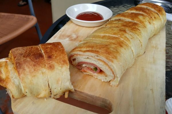 30 cm length of Rocket Pizza