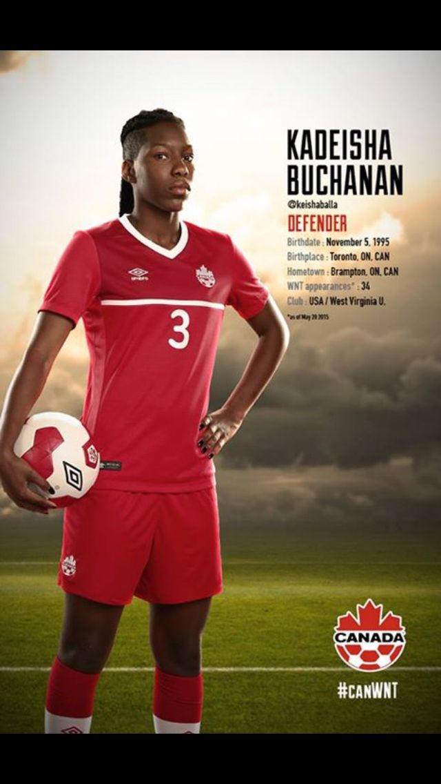 #CanWNT | #FIFAWWC | #CanadaRED | Kadeisha Buchanan |