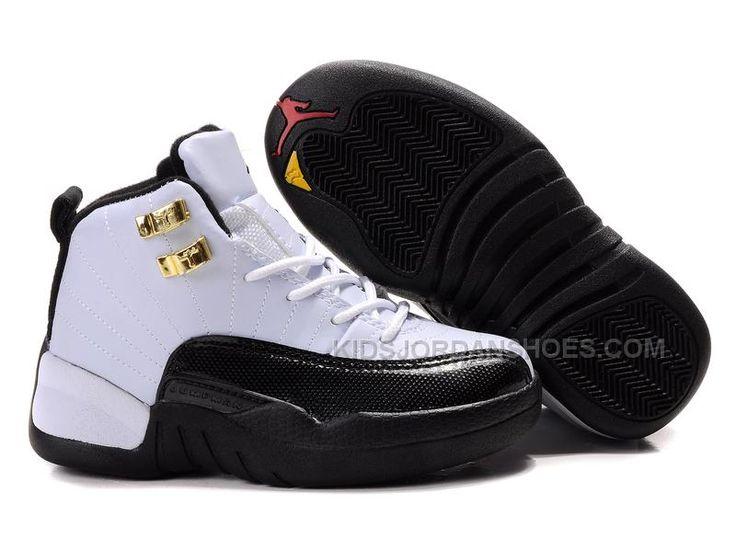 http://www.kidsjordanshoes.com/kids-air-jordan-12-black-white.html KIDS AIR JORDAN 12 BLACK WHITE Only $75.00 , Free Shipping!