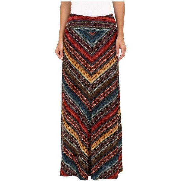 Double D Ranchwear Les Gauchos Maxi Skirt (Multi) Women's Skirt (3,210 MXN) ❤ liked on Polyvore featuring skirts, floor length maxi skirt, red maxi skirt, colorful maxi skirts, patterned maxi skirt and long red maxi skirt