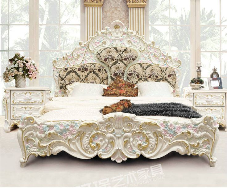 French+furniture | Luxury French Style Nandmade Bedroom Furniture (3901D)