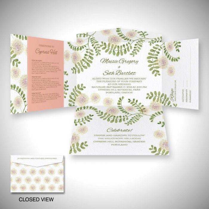 20 best einvite self mailer wedding invitations images on, Wedding invitations