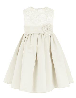 Baby Enola Dress | Ivory | Monsoon