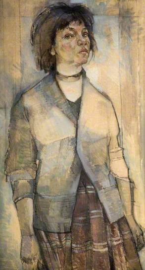 Self Portrait by Ottilie Tolansky Collection: The Potteries Museum & Art Gallery