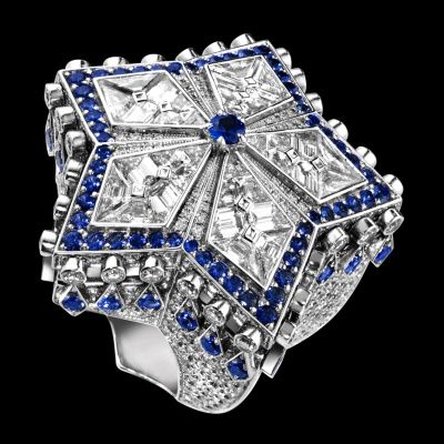 Piaget   Ring  Diamant Sapphire