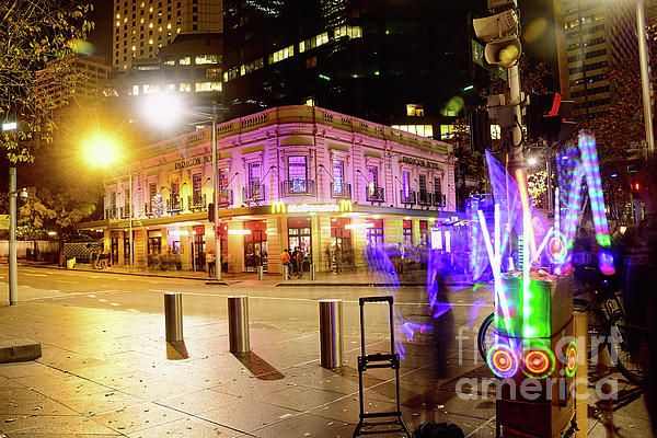 #Vivid_Sydney #Circular_Quay by #Kaye_Menner #Photography Quality Prints Cards Products at: http://kaye-menner.pixels.com/featured/vivid-sydney-circular-quay-by-kaye-menner-kaye-menner.html