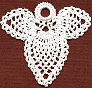 Flat Pineapple Angel Crochet Pattern