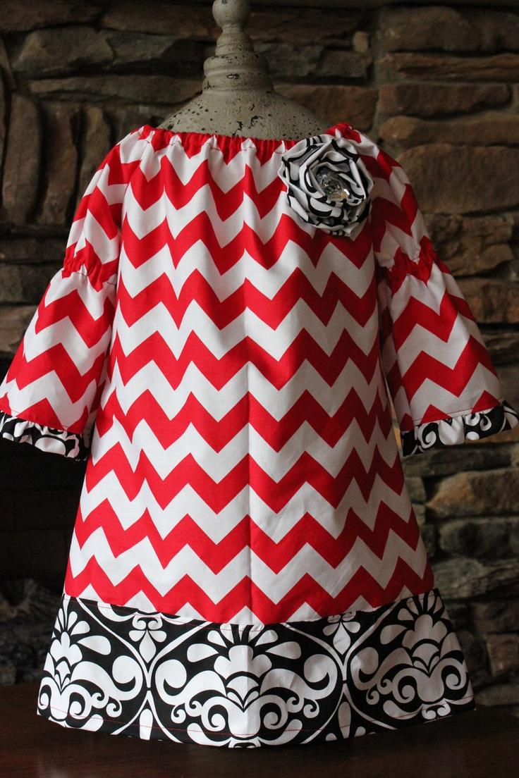 Cute Chevron Dress