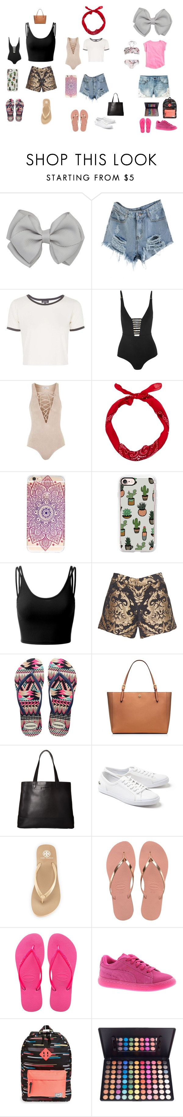 """""""Mum ,Forest,Harper"""" by evefarrah ❤ liked on Polyvore featuring J.Crew, Topshop, Zimmermann, Casetify, Doublju, Alice + Olivia, Havaianas, Tory Burch, SOREL and Lacoste"""