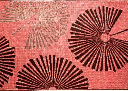 b.b.begonia Fantasia 4-Feet-by-6-Feet Polypropylene Indoor/ Outdoor Area Rug, Brown and Red by B.B.Begonia. $44.76. Treated with U.V. inhibitors and State of Art Conditioners for Color Fastness. Contemporary Designs with Beautiful Colors Available in Different Sizes. Measures 9-feet in length by 6-feet in width. Light and Easy to Carry on Picnics, Camping Trips and Soccer Games.. 100% Polypropylene. Material made from highest grade of recycled polypropylene. Fantasia sty...